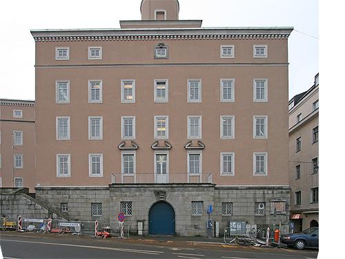 Linz kultur denkm ler heinrich glei ner haus ns for Architektur ns zeit